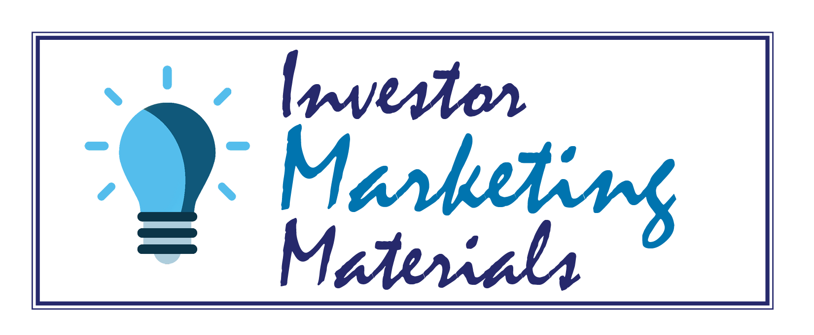 Investor Marketing Materials
